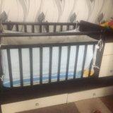 Детская кроватка+матрас+бортики. Фото 1. Дзержинск.
