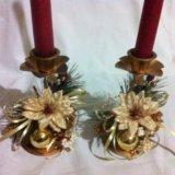 Подсвечники со свечами. Фото 3.