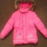 Зимняя курточка керри рост 104. Фото 4.