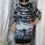 Красивое и стильное платье р.50. Фото 1. Пенза.