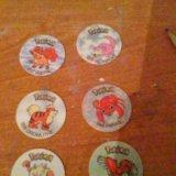 Фишки покемоны. Фото 2.