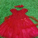 Платье для девочки на 1-2г. Фото 1.
