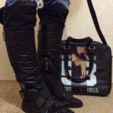 Сапоги и сумка. Фото 3. Омск.