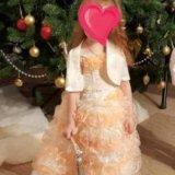 """зефирное"" платье с балеро. Фото 1. Калуга."