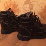 Классные зимние ботинки,натуральная кожа и мех. Фото 3. Москва.