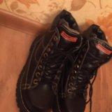 Классные зимние ботинки,натуральная кожа и мех. Фото 2. Москва.