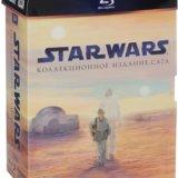 Star wars, звездные войны, 9 дисков blu-ray. Фото 1.