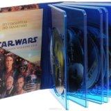 Star wars, звездные войны, 9 дисков blu-ray. Фото 2.