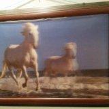 3d картина с лошадьми. Фото 1.