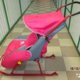 Санки-коляска ника детям. Фото 2. Самара.