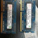 Hynix ddr3 2gb 2x4gb pc3-10600 для macbook. Фото 1.