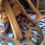 Ботинки зебра,19р. Фото 3. Москва.