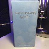 Женские dolce and gabbana light blue 50ml. Фото 2.