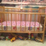 Детская кроватка. Фото 3. Омск.