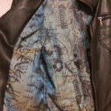 Куртка кожаная женская. Фото 2. Люберцы.