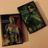 Аудио-кассеты michael jackson vol. 1, 2. Фото 1.