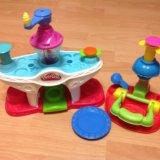 Play-doh фабрика мороженого+кексы набор пластилина. Фото 2.