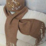 Шапка +шарф. Фото 2.