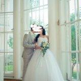 Свадебное платье. Фото 4. Видное.