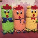 Цыпленок из полотенца. Фото 2.