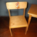 Детский стол и стул. Фото 1. Самара.