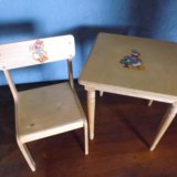 Детский стол и стул. Фото 2. Самара.