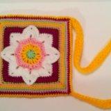 Новая вязанная сумочка. Фото 2.