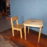 Детский стол и стул. Фото 3. Самара.