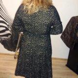 Пальто.р.46-48.леопардовое.приталенное. Фото 1.