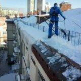 Очистка снега. Фото 3. Омск.