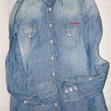 Рубашка джинсовая. Фото 1.