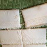 Бортики и постельное белье в кроватку италия шитье. Фото 3. Москва.