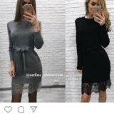 Платье, черное. Фото 1.