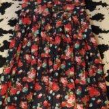 Платье в пол размер 50-52. Фото 1.