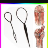 Топси петля для волос. Фото 1.