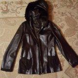 Продам кожаную куртку. Фото 1. Королев.