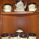Красивый и стильный чайный набор. Фото 2. Балашиха.