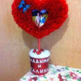Декоративное сердце. Фото 2. Тверь.