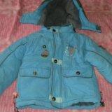 Детская зимняя куртка+ полукомбинезон. Фото 3.