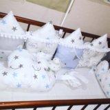 Бортики в кроватку. Фото 1.