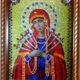 Икона божьей матери семистрельная. Фото 1.
