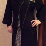 Замшевое пальто. Фото 1.