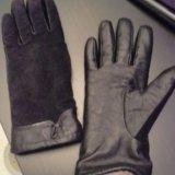 Кожаные перчатки женские. Фото 2.