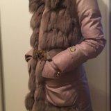 Зимний пуховик с мехом кролика. Фото 2. Москва.