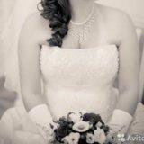 Свадебное платье 48-50 р-ра. Фото 3. Тосно.