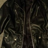Куртка stradivarius. косуха.. Фото 3.