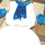 Новогодний костюм снеговик, 3-5 лет. Фото 2.
