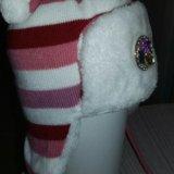 Детская зимняя шапка+шарфик. Фото 4. Сосновый Бор.