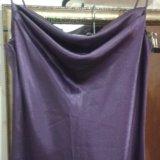 Вечернее атласное платье на тонких лямках. Фото 2. Туапсе.