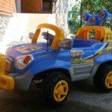 """Новый электромобиль """"super jeep"""" с пульт. управлен. Фото 1. Краснодар."""
